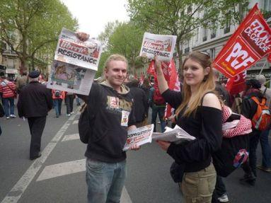 vente militante liberté