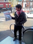 vente militante ... au métro