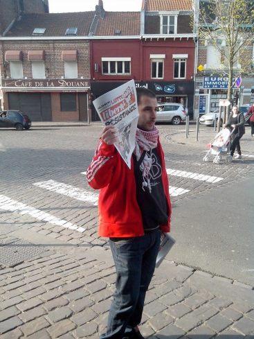 Vente militante ... dans le quartier