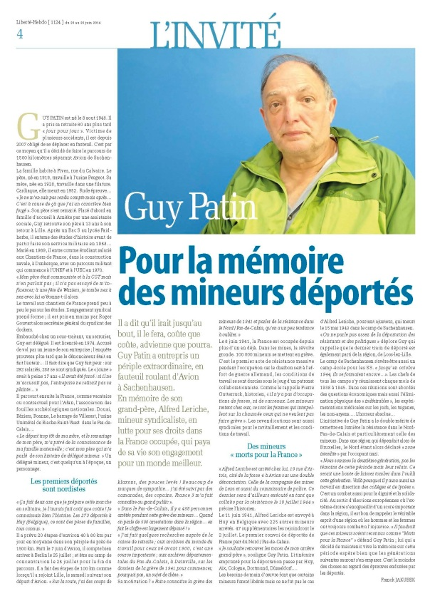 Invité Guy Patin